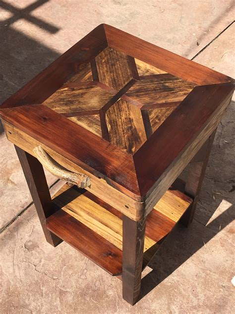 Cool Diy Wooden End Tables