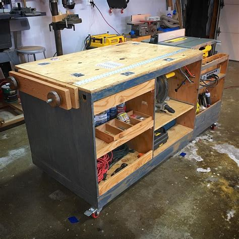 Cool Diy Workbenches