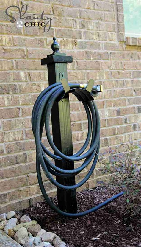 Cool Garden Hose Holder DIY Projects
