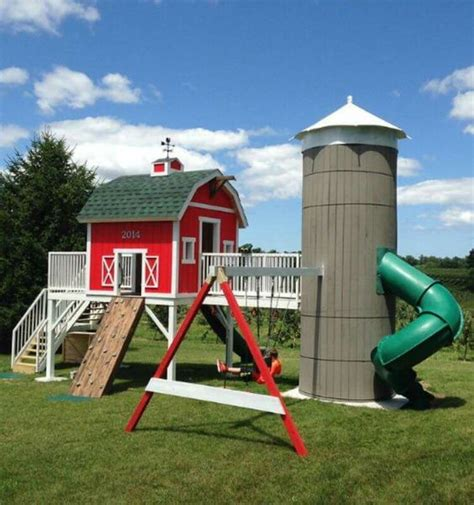Cool House Plans Shed Playhouse