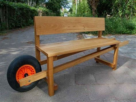Cool Wooden Benches