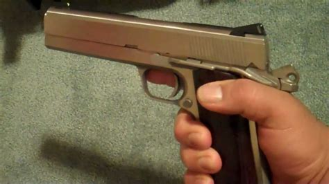 Coonan 357 Magnum 1911 With Heine Tritium Sights From Novak And Amazing Selection 10 22 Barrel F J Feddersen Inc Do Not