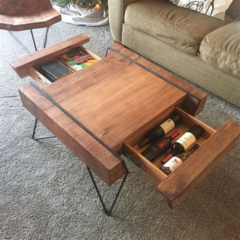 Coordinate Table Diy With Shelf