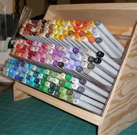 Copic Marker Storage Diy Room