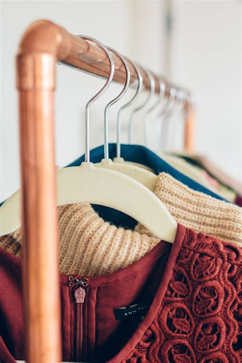 Copper Clothing Rack Diy