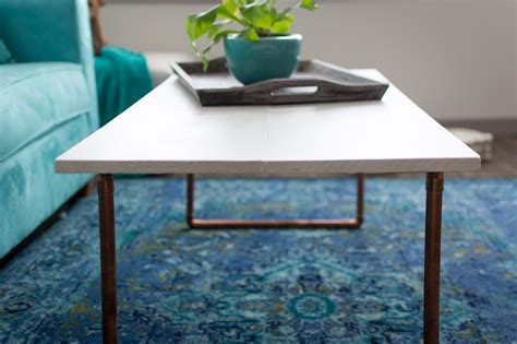 Copper Coffee Table Diy Plans