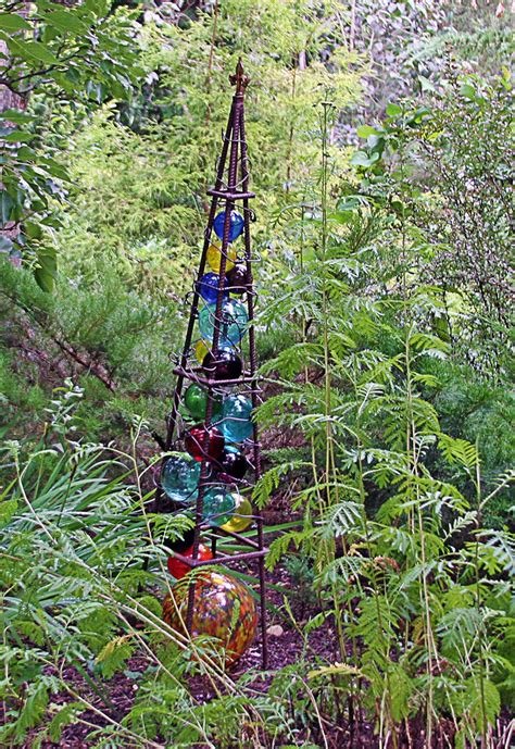 Copper Garden Obelisks