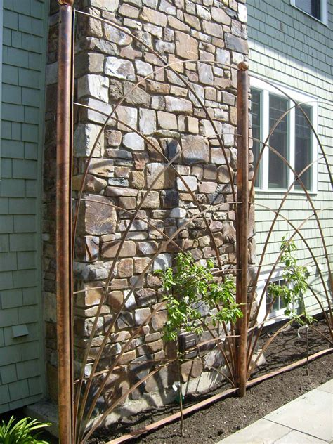 Copper Pipe Trellis Designs