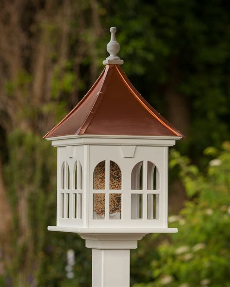 Copper Roof Bird Feeder Plans