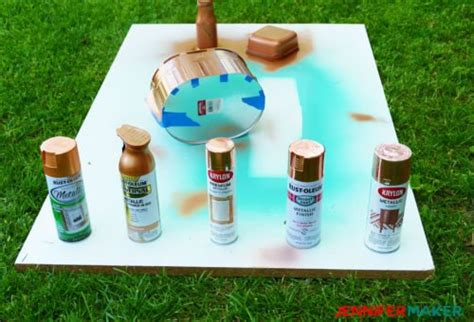 Copper Spray Paint DIY Projects