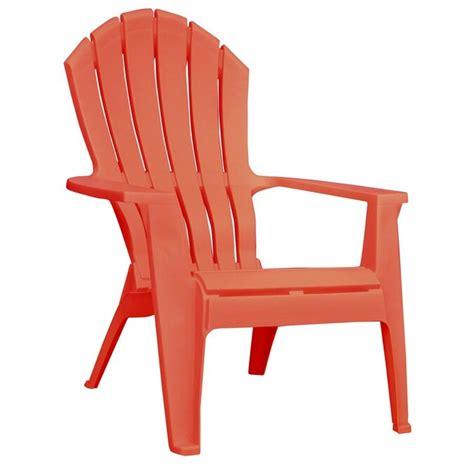 Coral-Resin-Adirondack-Chairs