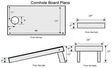 Corn Hole Plans The Lightest