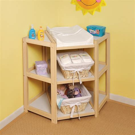Corner Baby Changing Table Plans