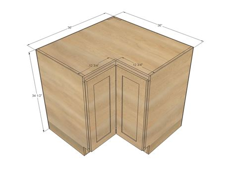Corner Base Kitchen Cabinet Dimensions