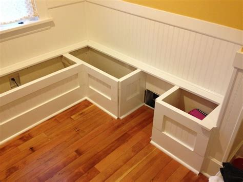 Corner Bench Seating With Storage Diy Couch