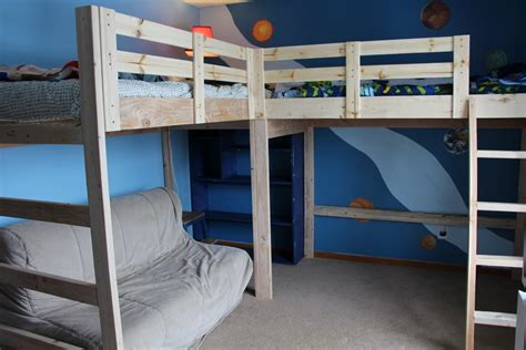 Corner Bunk Bed Plans Diy