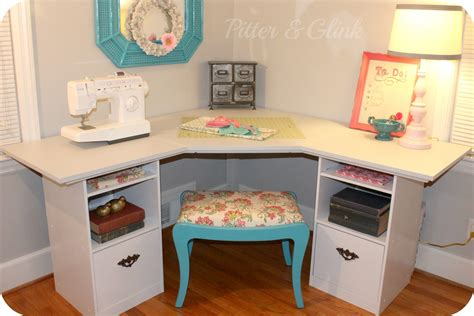 Corner Craft Desk Plans