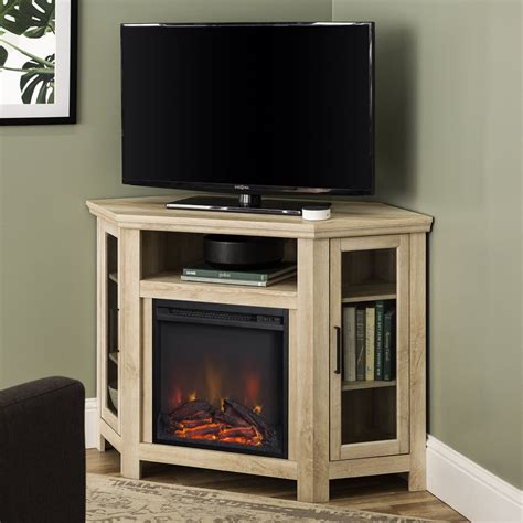 Corner Fireplace Tv Stand Plans