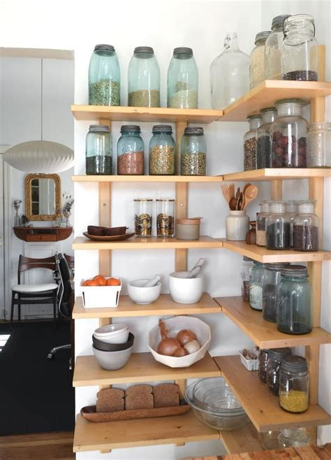 Corner Pantry Shelves Diy