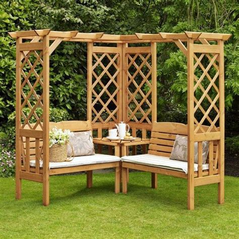 Corner Pergola Diy Projects
