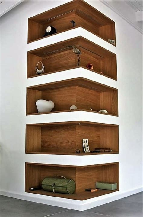 Corner Room Shelf DIY