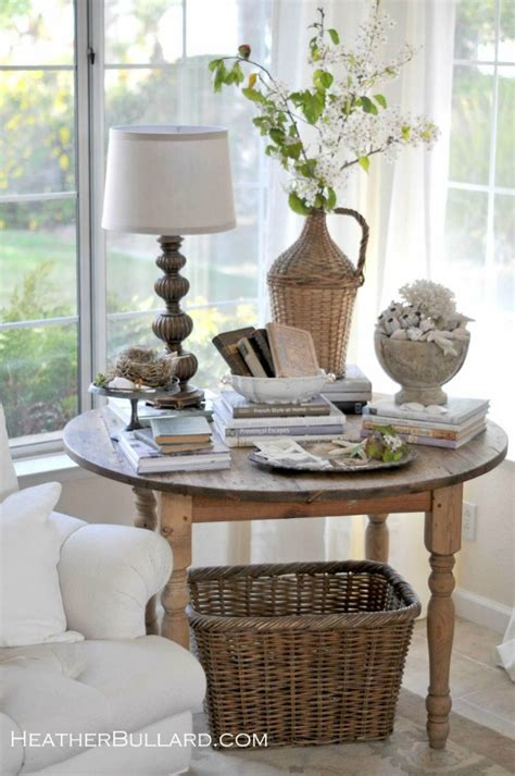 Corner Table Decorating Ideas