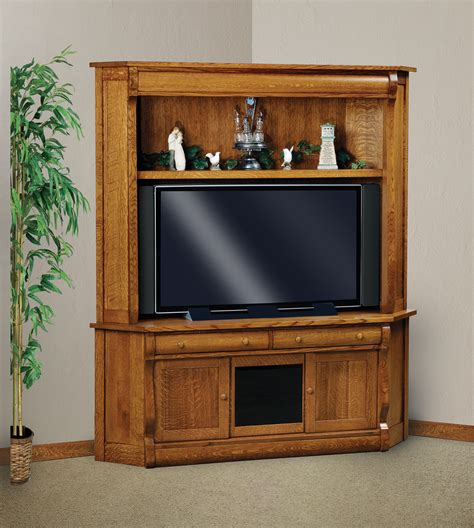 Corner Tv Stand And Hutch
