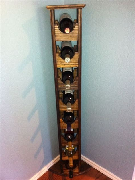 Corner Wine Rack Diy