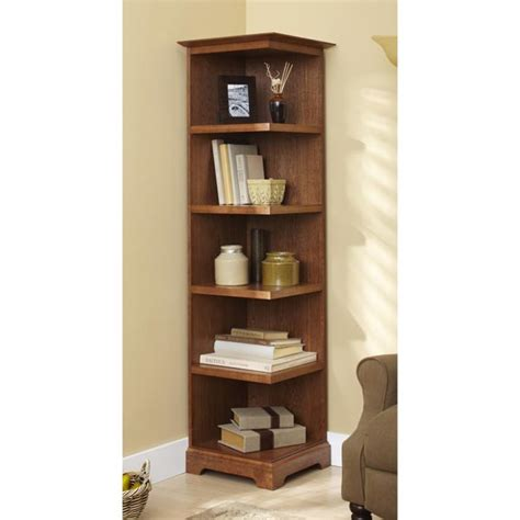 Corner-Bookcase-Woodworking-Plans