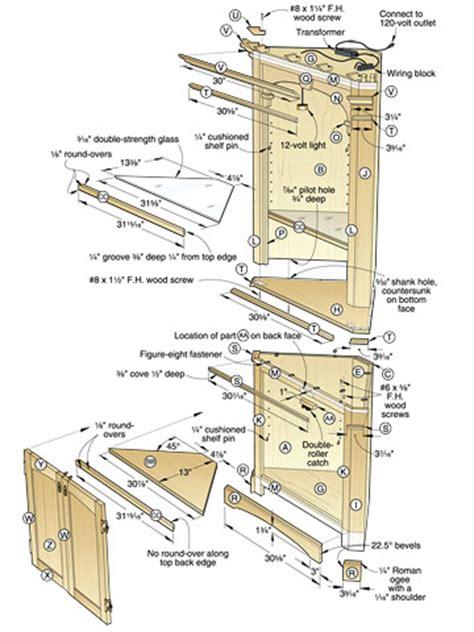 Corner-Cabinet-Woodworking-Plans