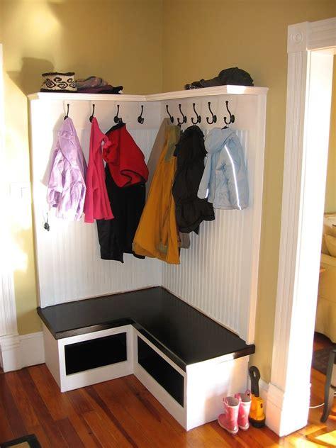 Corner-Coat-And-Shoe-Rack-Plans