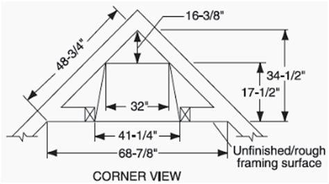 Corner-Fireplace-Framing-Plans