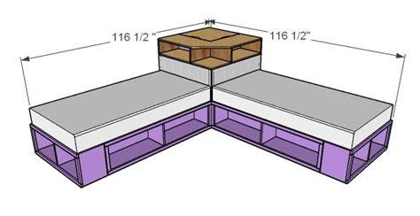 Corner-Platform-Bed-Plans