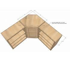 Best Corner cabinets sizes