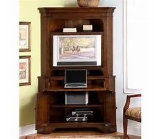 Best Corner computer armoire free