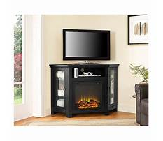 Best Corner fireplace tv stand target