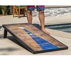 Best Cornhole board design