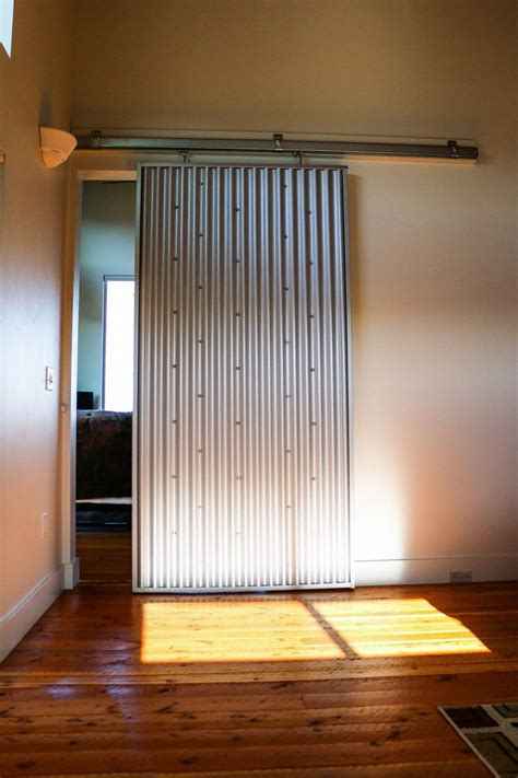 Corrugated Metal Door Inserts