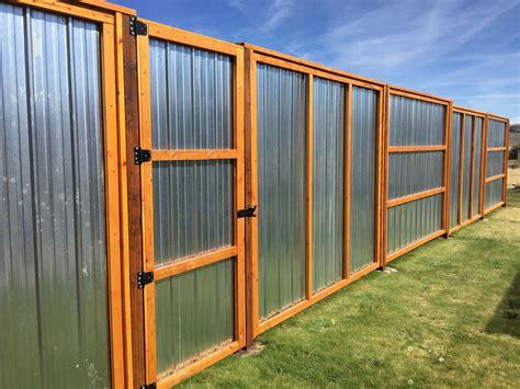 Corrugated-Metal-Fence-Plans