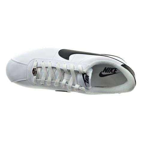 Cortez Basic Leather Men's Shoes White/Metallic Silver/Black 819719-100