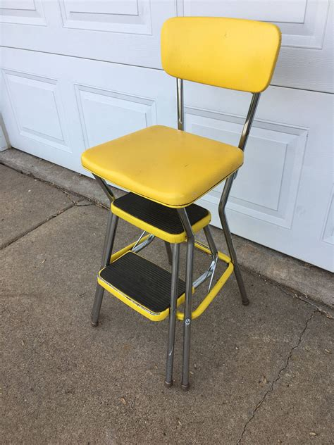 Cosco Chair Step Stool Yellow