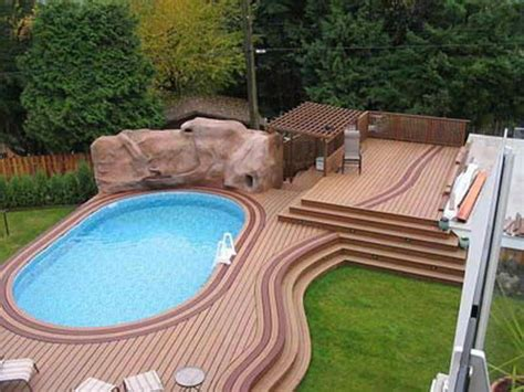 Cost To Build Above Ground Pool Deck