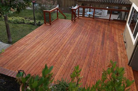 Cost To Build Redwood Deck In California