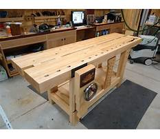 Best Cost to build a woodworking bench