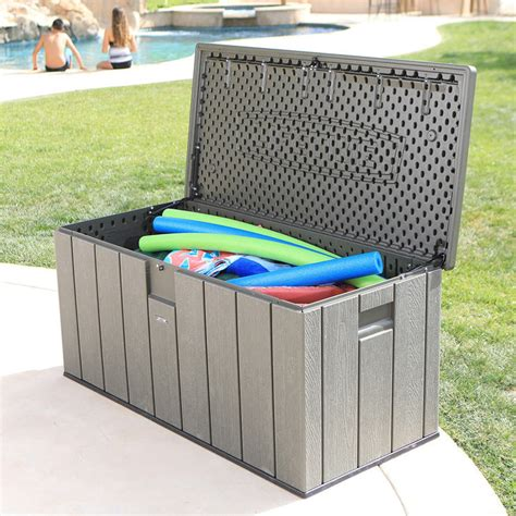 Costco Plastic Outdoor Storage Boxes