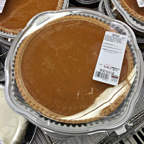 Costco Pumpkin Pie Shelf Life
