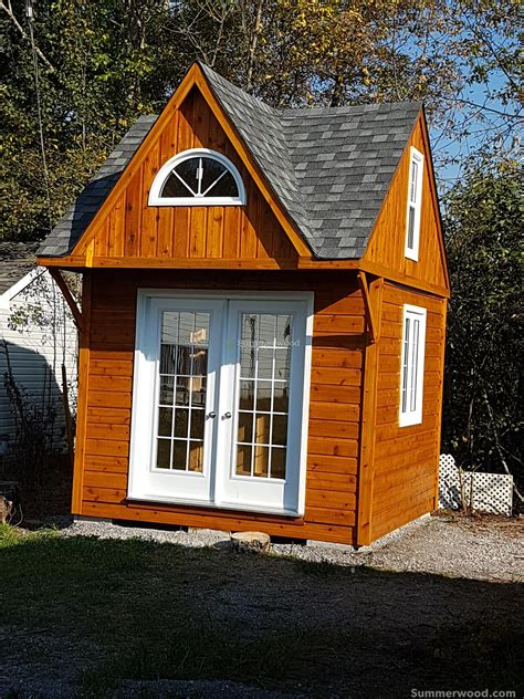 Cottage Bunkie Plans With Washroom Signs
