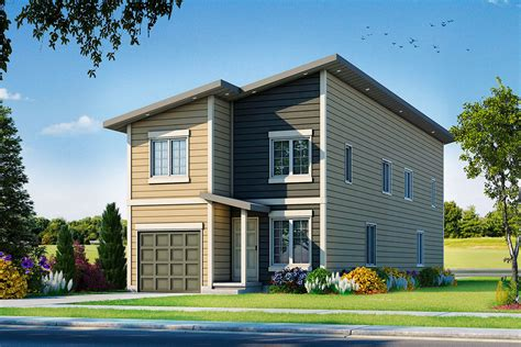 Cottage Plans For Narrow Lots