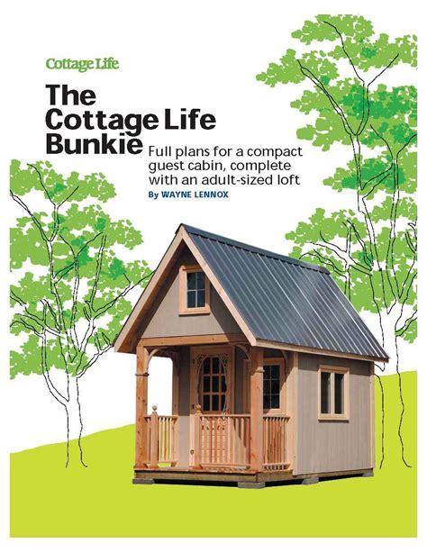 Cottage-Bunkie-Plans