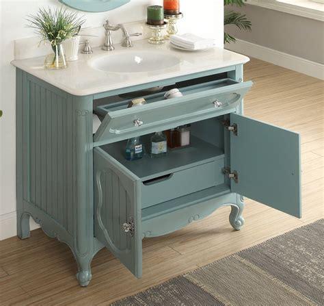 Cottage-Style-Vanity-Cabinet